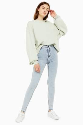 Topshop Extreme Bleach Acid Wash Joni Jeans