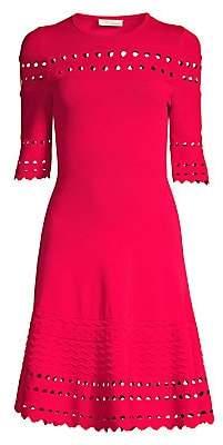 Shoshanna Women's Menena Knit Fit-&-Flare Dress