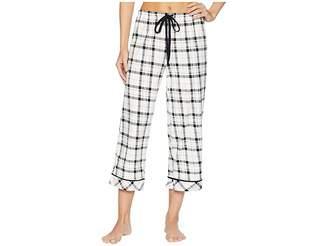 Jockey Printed Cropped Pants Women's Pajama