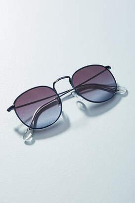 Anthropologie Hailey Round Sunglasses