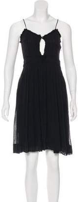 Isabel Marant Sleeveless Knee-Length Dress