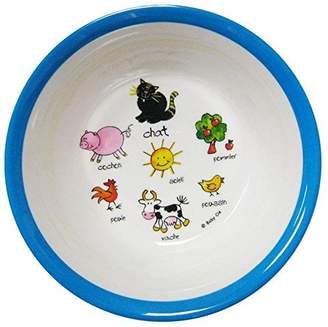 Baby Cie Suction Bowl - Farm - Blue by