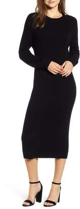 AG Jeans Quaid Knit Sweater Dress