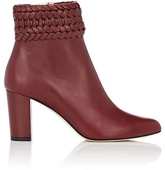 Altuzarra Women's Leather Braided Ankle Boots