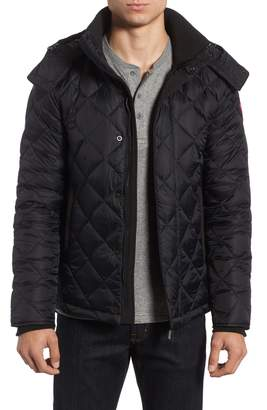 Canada Goose Hendriksen Slim Fit Quilted Down Coat