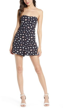 French Connection Camass Strapless Romper