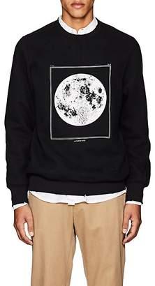 Ovadia & Sons Men's Moon-Graphic Cotton-Blend Sweatshirt
