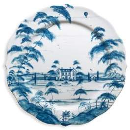 Country Estate Charger Plate Main House