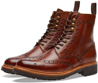 Grenson Fred Commando Sole Brogue Boot