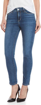 NYDJ Petite Hey Burn Wash Alina Skinny Jeans