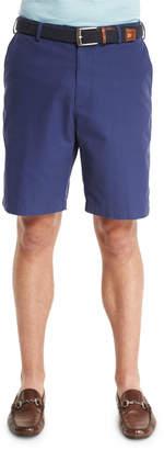 Peter Millar Lightweight Twill Shorts, Navy