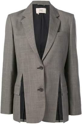 Ports 1961 tie waist checked blazer
