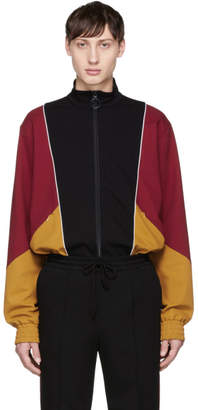 John Lawrence Sullivan Johnlawrencesullivan Tricolor Colorblock Zip Jacket