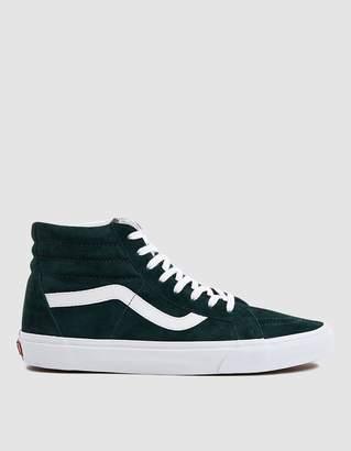 Vans Suede Sk8-Hi Reissue Sneaker in Darkest Spruce