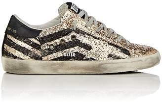 Golden Goose Women's Superstar Glitter Flag Sneakers