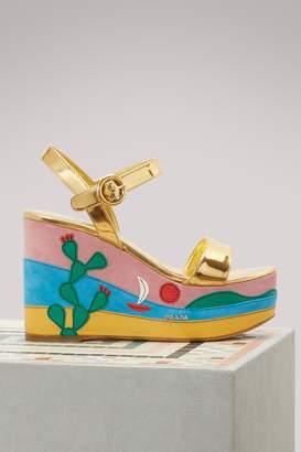 Prada Plateform sandals