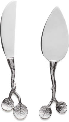 Michael Aram Botanical Leaf Two-Piece Cheese Knife Set