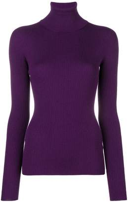 Dolce & Gabbana ribbed roll neck jumper