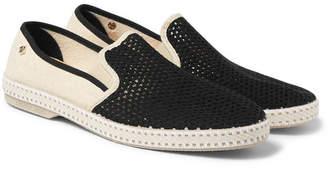 Rivieras Nervous Werck Cotton-Mesh Slip-On Shoes - Men - Beige