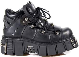 New Rock Black Leather M.288 S2 Men Metallic Women Ready-Stock Available on 14-FEB-2017 Out of stock Pre-order Size 41
