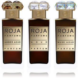 Roja Parfums Aoud Parfum de Voyage, 3x 1.0 oz./ 30 mL