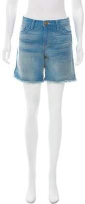 Current/Elliott Denim Knee-Length Shorts