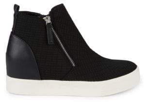Steve Madden Sashi Leather Platform Sneakers