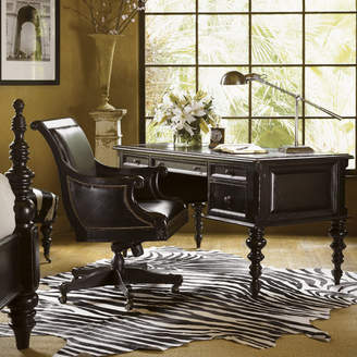 Tommy Bahama Home Kingstown Standard Executive Desk and Chair Set