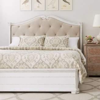 Stanley Juniper Dell Upholstered Panel Bed