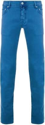 Jacob Cohen slim handkerchief jeans