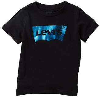Levi's Foil Batwing Short Sleeve Tee (Little Boys)