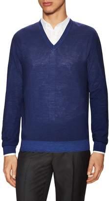 Z Zegna Men's Wool V-Neck Sweater