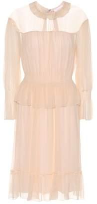 See by Chloe Silk-chiffon dress