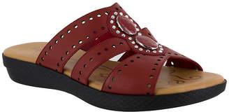 Easy Street Shoes Womens Vara Flat Sandals