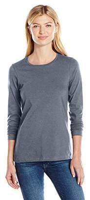 American Apparel Women's Fine Jersey Classic Long Sleeve T-Shirt $12.28 thestylecure.com