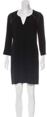 Comptoir des Cotonniers Long Sleeve Mini Dress