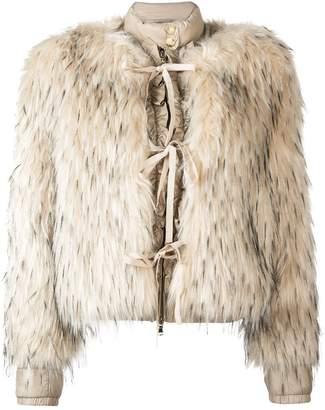 Patrizia Pepe faux fur puffer jacket