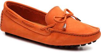 Mercanti Fiorentini Nubuck String Tie Loafer - Women's