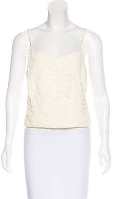 Akris Sleeveless Crop Top