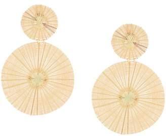 Mercedes Salazar Dos Soles Dorados earrings