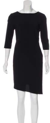 Halston Shift Mini Dress