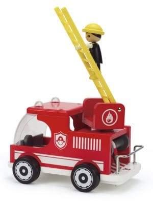 Hape Toys Wooden Fire Truck