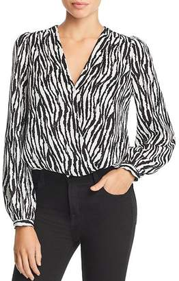 Lucy Paris Zebra Stripe Bodysuit
