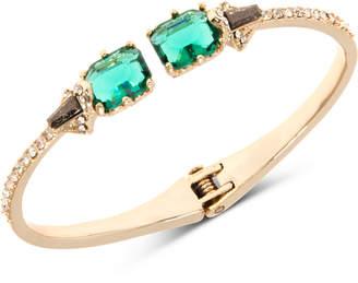 Jenny Packham Gold-Tone Crystal & Stone Cuff Bracelet