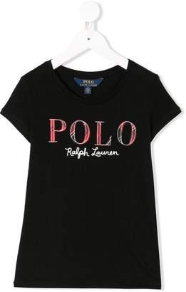 Ralph Lauren Kids logo embroidered T-shirt