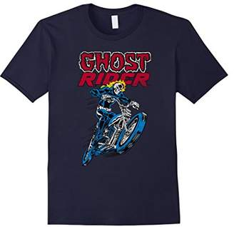 Marvel Ghost Rider Flames Graphic T-Shirt
