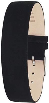 Moog Paris Black Nubuck Leather Bracelet for Women