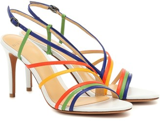 Alexandre Birman Strappy 75 leather sandals
