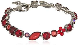 Sorrelli Ruby Crystal and Cabochon Classic Bracelet
