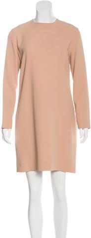 CelineCéline Long Sleeve Shift Dress